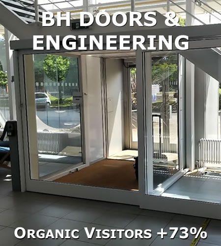 Organic visitor increase
