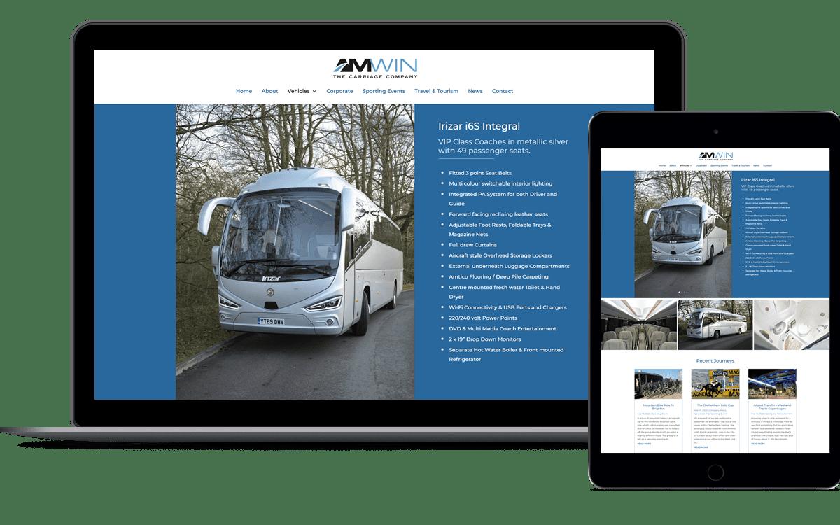 Website design for Beaconsfield Company