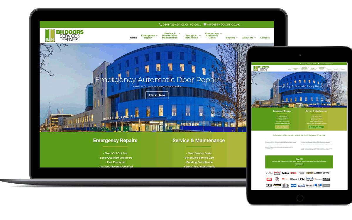 Website design in Oxford