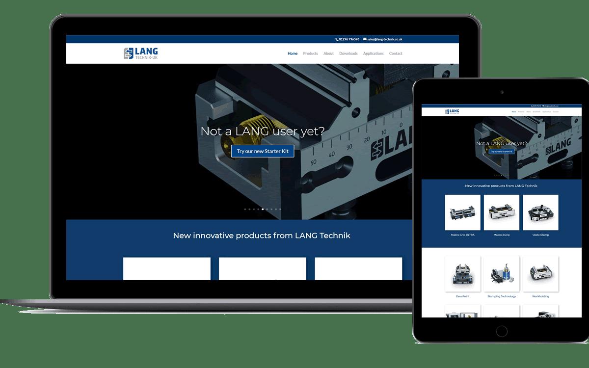 Website design in Thame
